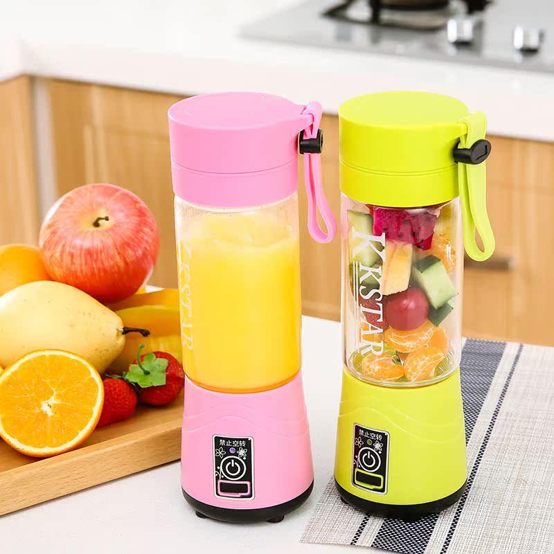 韩国榨汁迷你代购杯充电式便携学生v学生炸果汁机家用全自动小型水