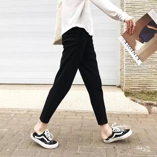 超棒版型!高品质竹干腿休闲裤
