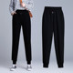 2020 new spring models female sports pants loose and feet large size outer wear harem pants Wei was thin slacks trousers