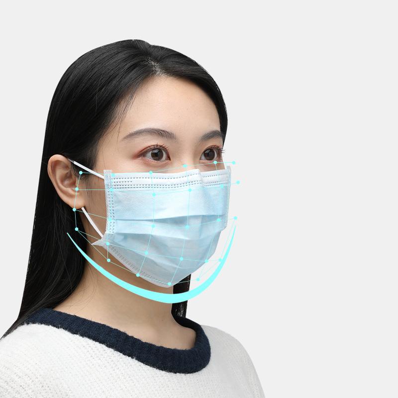 一次性医用口罩医疗三层医护生防护成人学生专用夏天夏季薄款透气