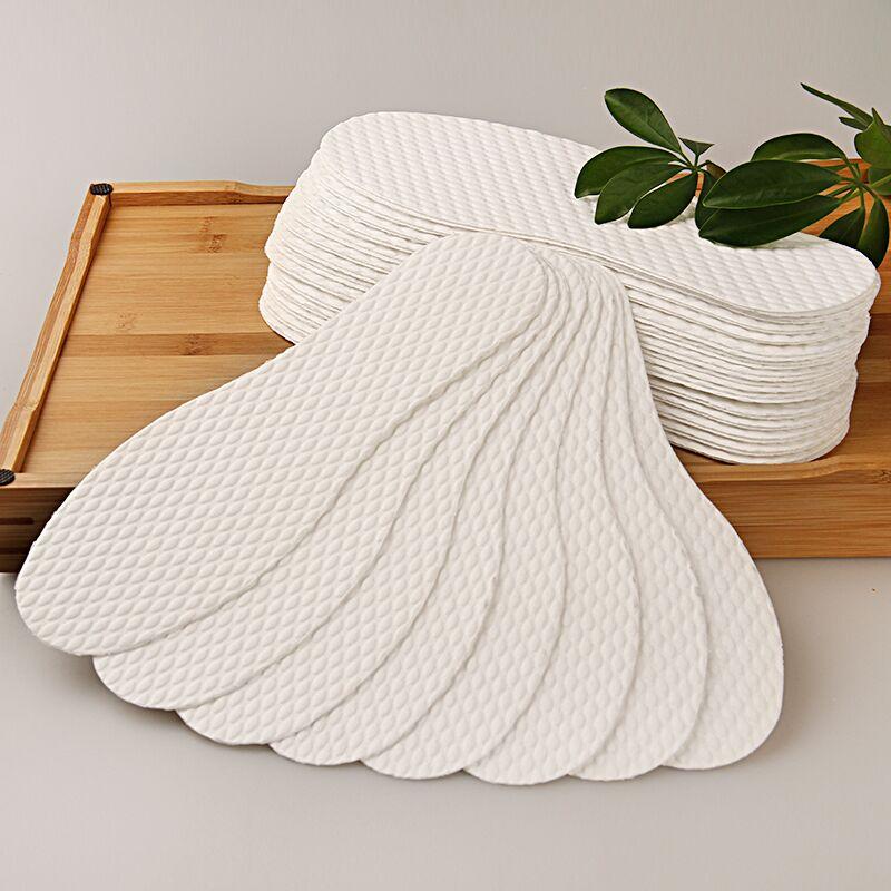 10双装吸汗防臭透气木浆鞋垫