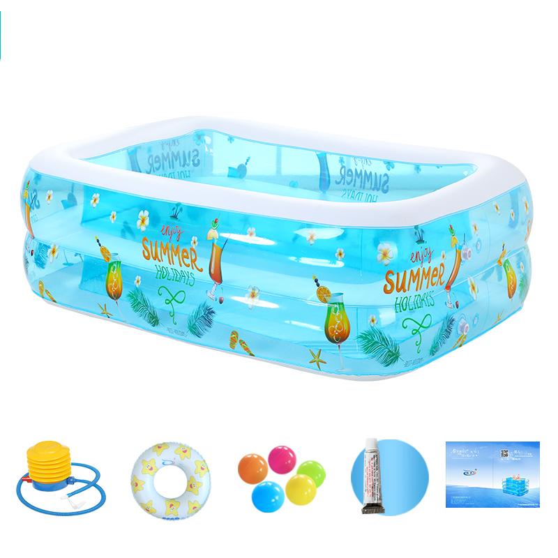伊润大号家庭充气游泳池婴儿童游泳池