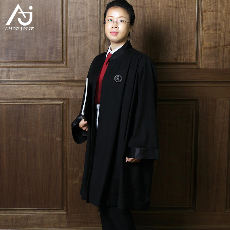 2017 New gown male and Female Lawyers Association standard judge ...