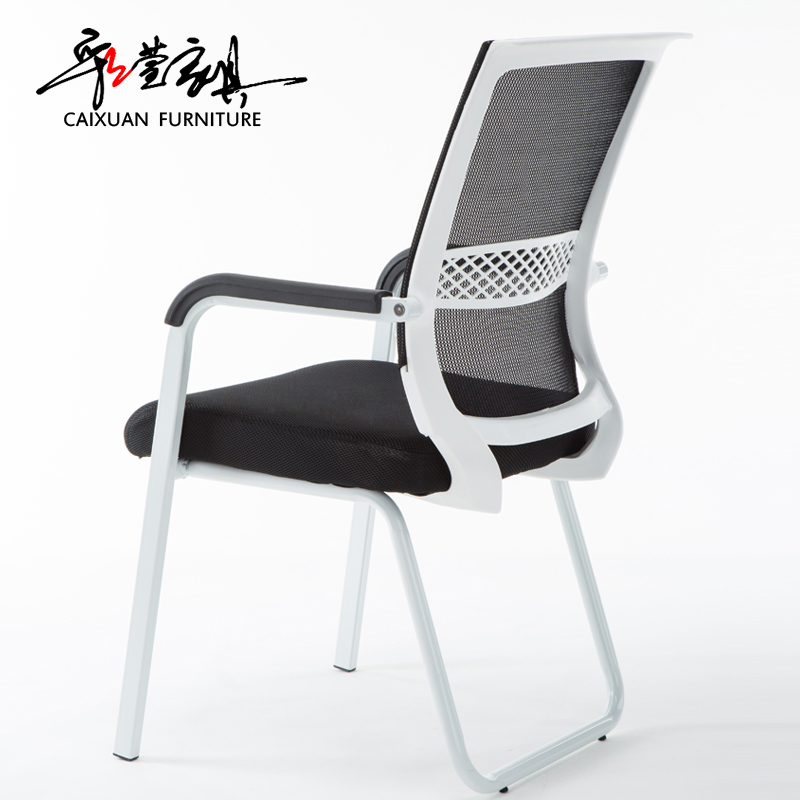 Genial Office Chair Computer Chair Home Mesh Cloth Lift Swivel Chair Simple Bow  Back Staff Chair Conference