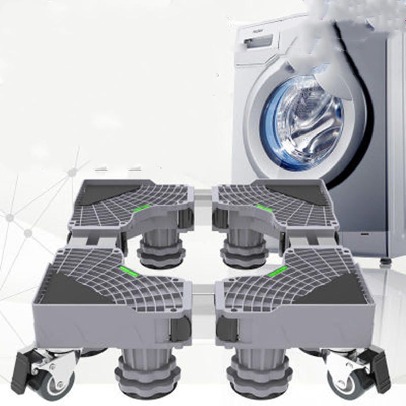 洗衣机底座可移动置物架翻盖海尔滚筒托架脚架子多功能冰箱底座架