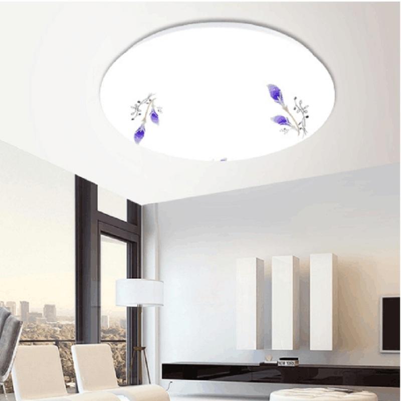 限5000张券超薄LED吸顶灯圆形卧室灯简约现代卧室走廊客厅灯阳台厨卫灯具