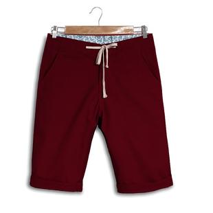 夏季男士纯棉休闲五分短裤