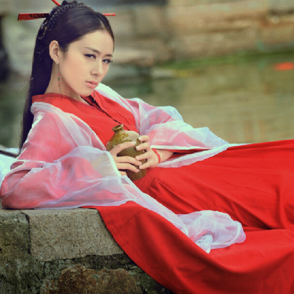 4cce339bb ... Cos Zixia Fairy Annual Meeting Dahong Xia Women Red Oriental Undefeated  Female Costume Hanfu Fairy Costume