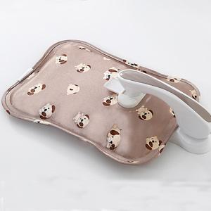 防爆热水袋充电式暖水袋女热敷肚子煖宝宝经期暖手宝毛绒简单可爱