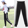 Sports pants female harem pants summer thin section students loose Korean version ulzzang wild black pants casual pants spring
