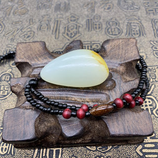 Xinjiang Hetian jade seed material of the original stone pendant small original seeds of natural and Tian Baiyu seed material of the original stone pendant male and female fidelity