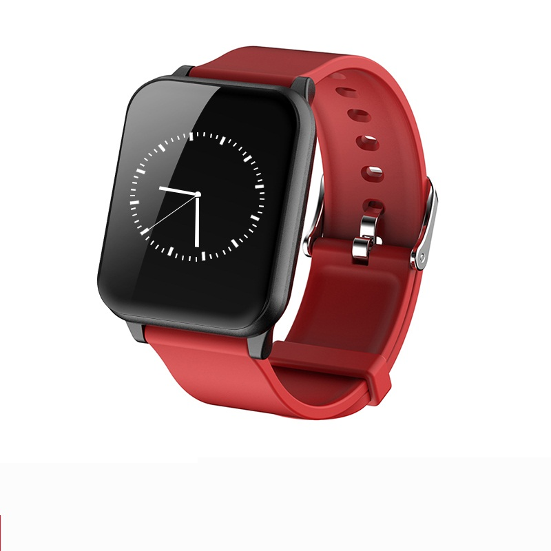 Red Silicone Band
