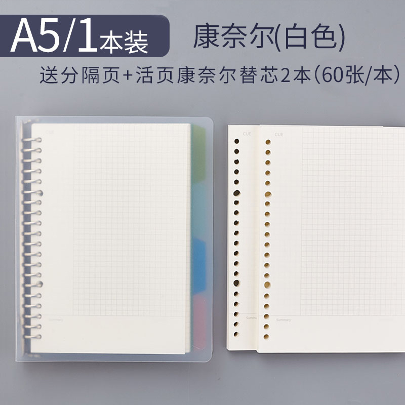 A5 High Efficiency 1 (send 4 Separator Pages) + 2 Refills
