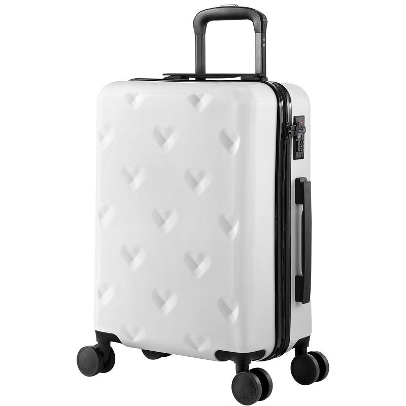 Любовь род коробки женщина студент чемодан сын 24 дюймовый корейский моды багажник колесного 20 дюймовый дэн шасси