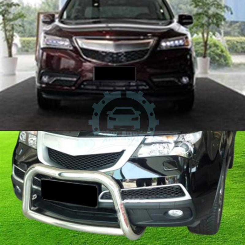 1pc Stainless Steel Front Per Skid Plate Bull Bar Fit For Acura Mdx