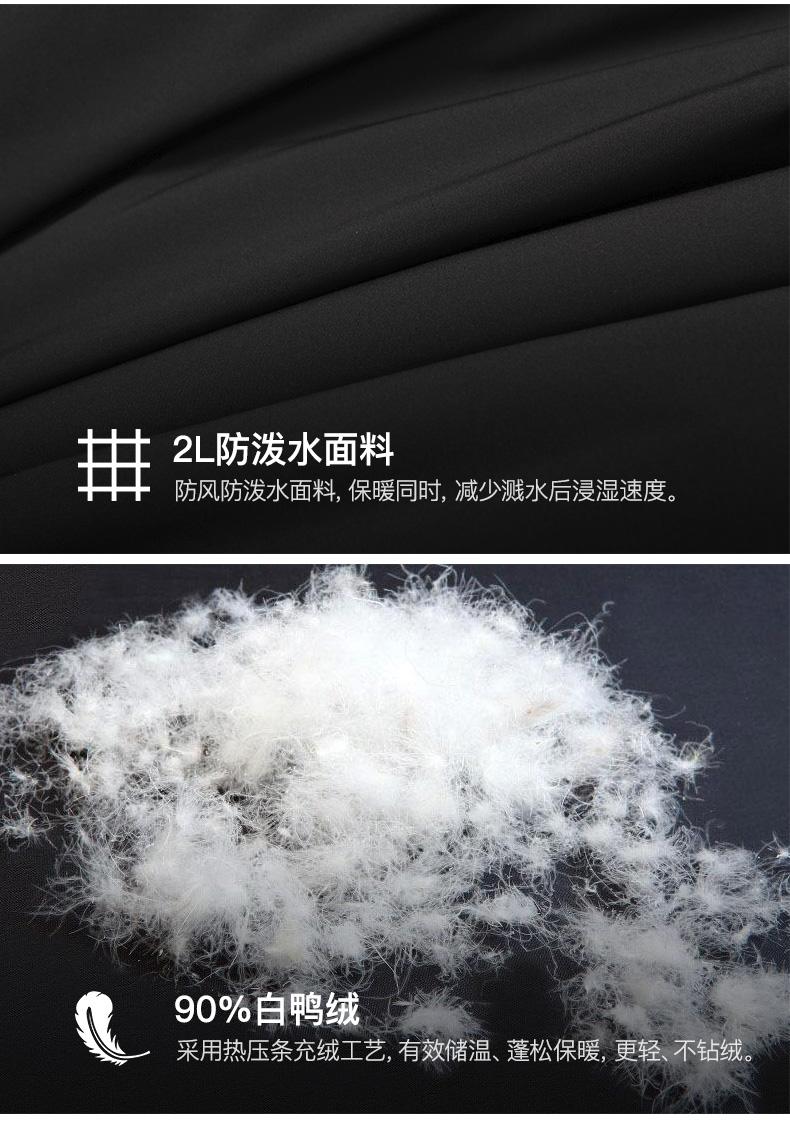 清仓神价 顶级装备 日本 Phenix 男弹力羽绒服 图5