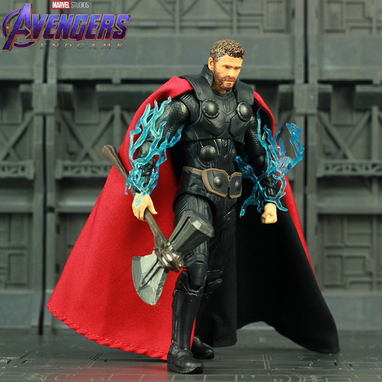 15cm SHF S.H.Figuarts Avengers End Game Thor with Holder Action Figure Toy