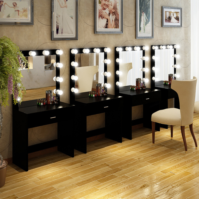 USD 39.92] Professional studio dresser with lamp makeup table ...