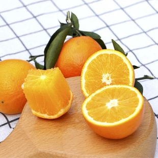 正宗赣南脐橙新鲜水果麻阳冰糖橙5斤