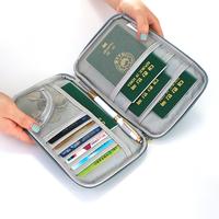 Многофункциональный защитный чехол для паспорта за границей Проездной документ Хранение паспорта пакет Набор паспортов владельца паспорта