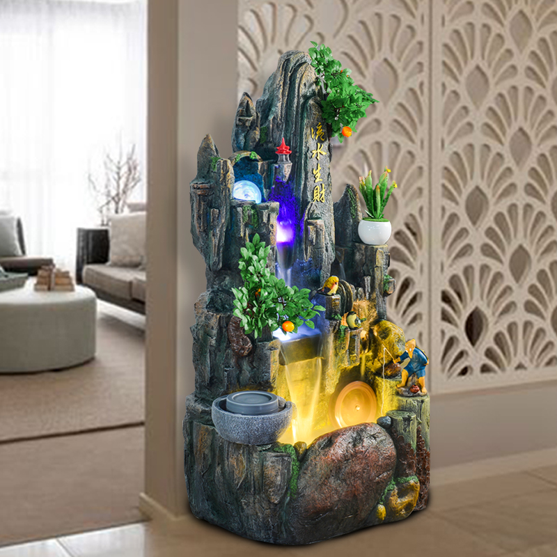 Usd Rockery Water Fountain Decoration Fish Tank Decorations Interior Living Room