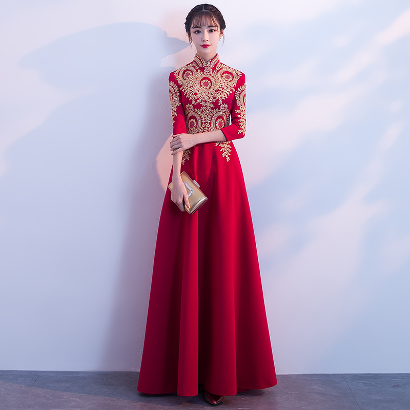wedding evening dress