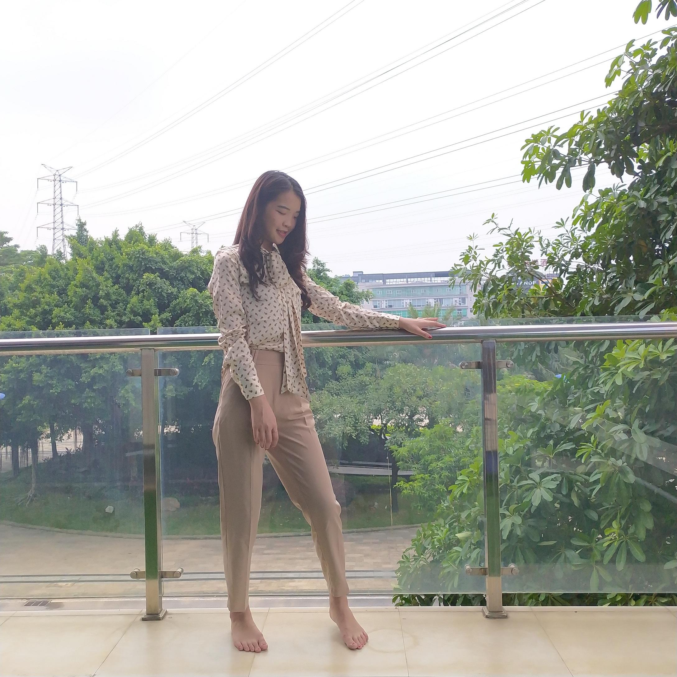 Amii新品高腰西装裤,尽显我职场气质