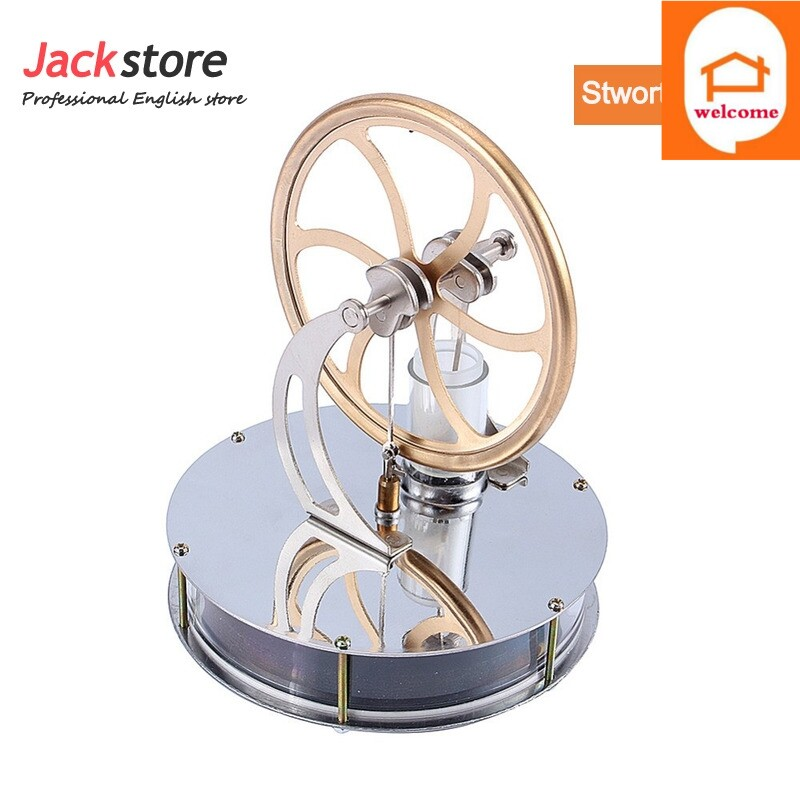 low temperature stirling engine heat education creative gift