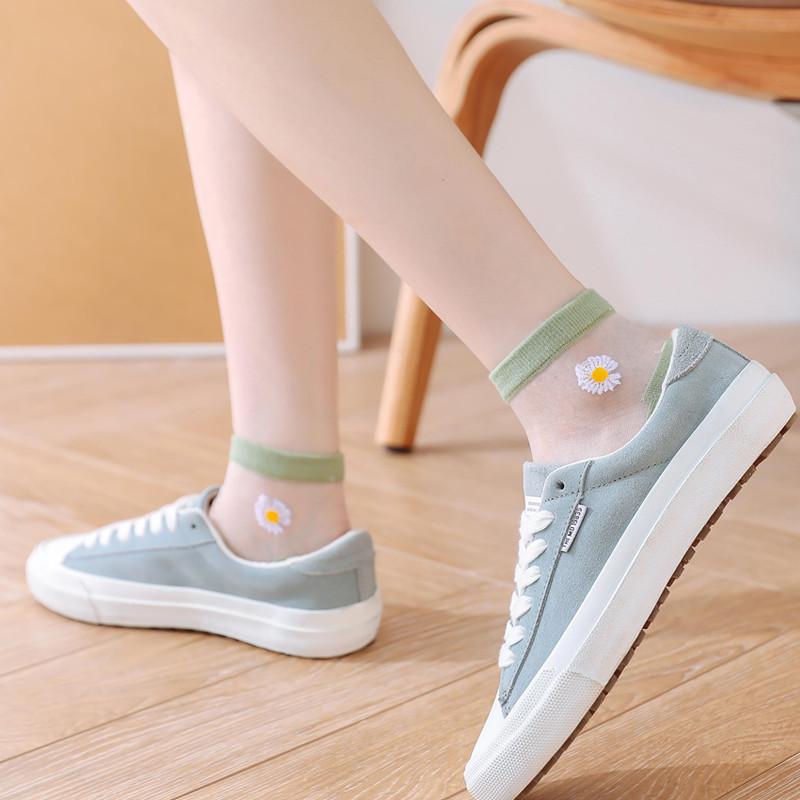 袜子女春夏季薄款浅口短袜