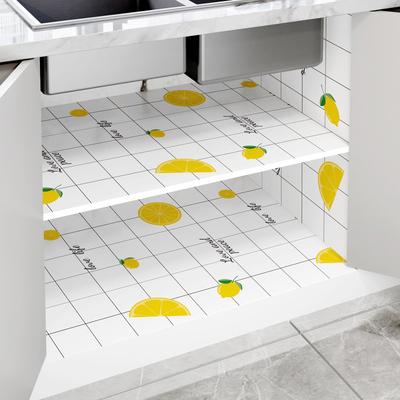 橱柜垫纸防水防潮自粘加厚厨房防油贴纸柜子鞋柜防尘衣柜垫抽屉垫