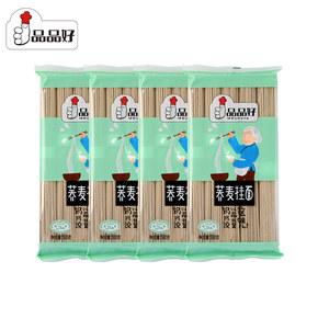 【品品好】粗粮杂粮荞麦挂面500g*4袋
