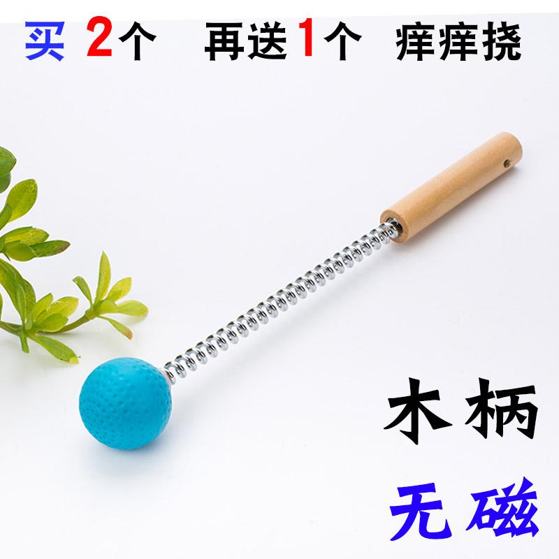 Цвет: Деревянная ручка--немагнитный--синий