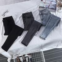 Замшевый утепленный высокая Талия толстая ММ большой размер эластичные тугой джинсы Женская осень 2019 новая коллекция приталенный Показать тонкие ноги