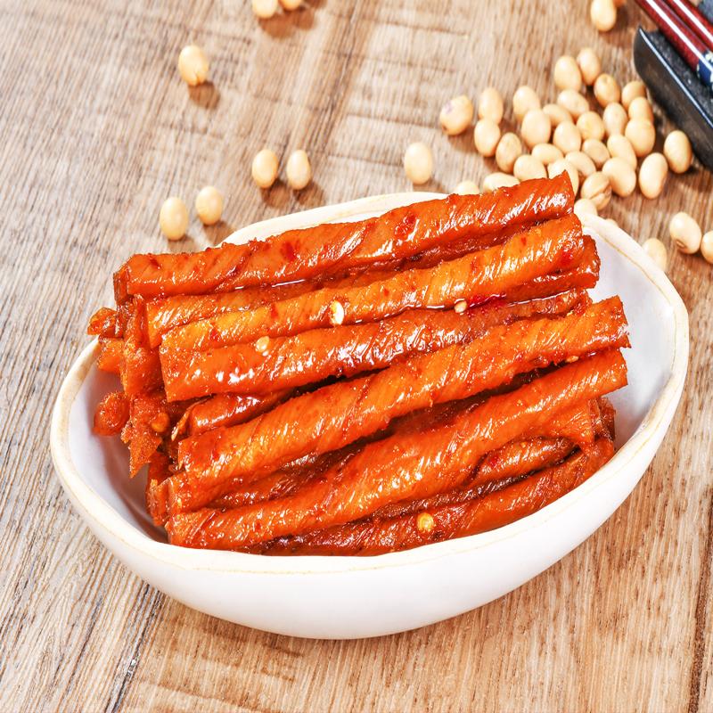 邬辣妈20包相思卷辣条豆干素食豆腐干麻辣小包装儿时休闲零食