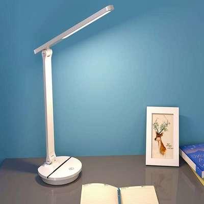 视贝LED台灯充电学习护眼书桌学生阅读写字卧室宿舍床头调光插电