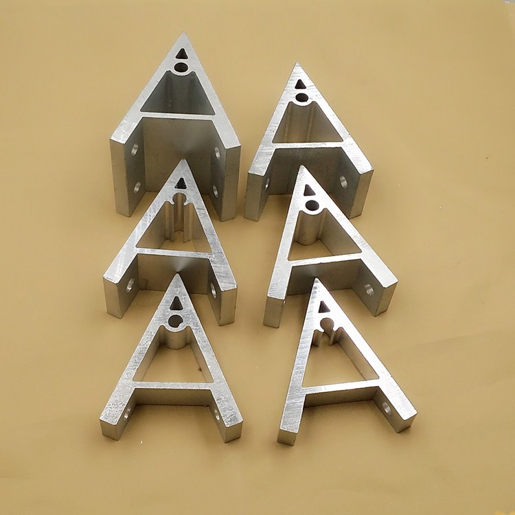 Industrial aluminum profile right angle aluminum 90 degree bracket power  angle piece 45 degree angle Code 20 30 40 50 60