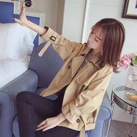 Небольшой ветровка куртка женщина короткий Весна 2019 новая коллекция Осенний поп корейская версия Свободный студент универсальный стиль Верхняя одежда прилив