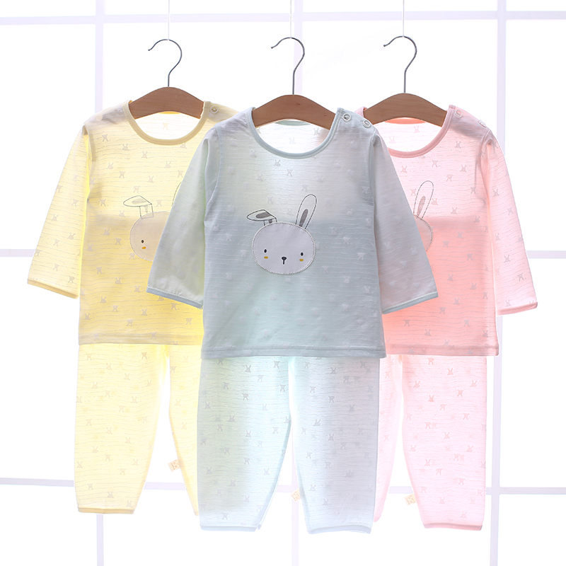 a52e31b85 USD 19.46  Baby underwear cotton suit men and women baby air ...