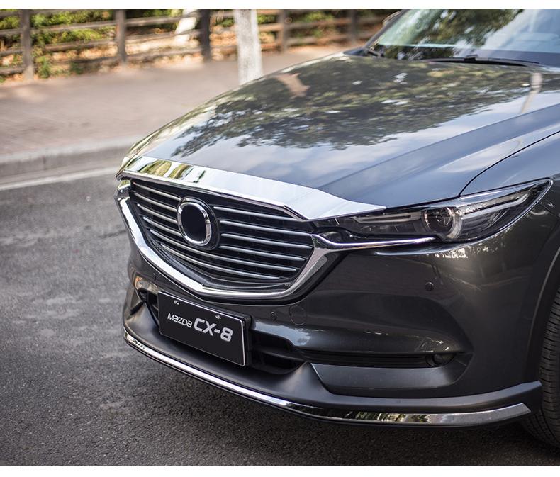 Ốp viền trang trí nắp Capo Mazda CX8 - ảnh 16