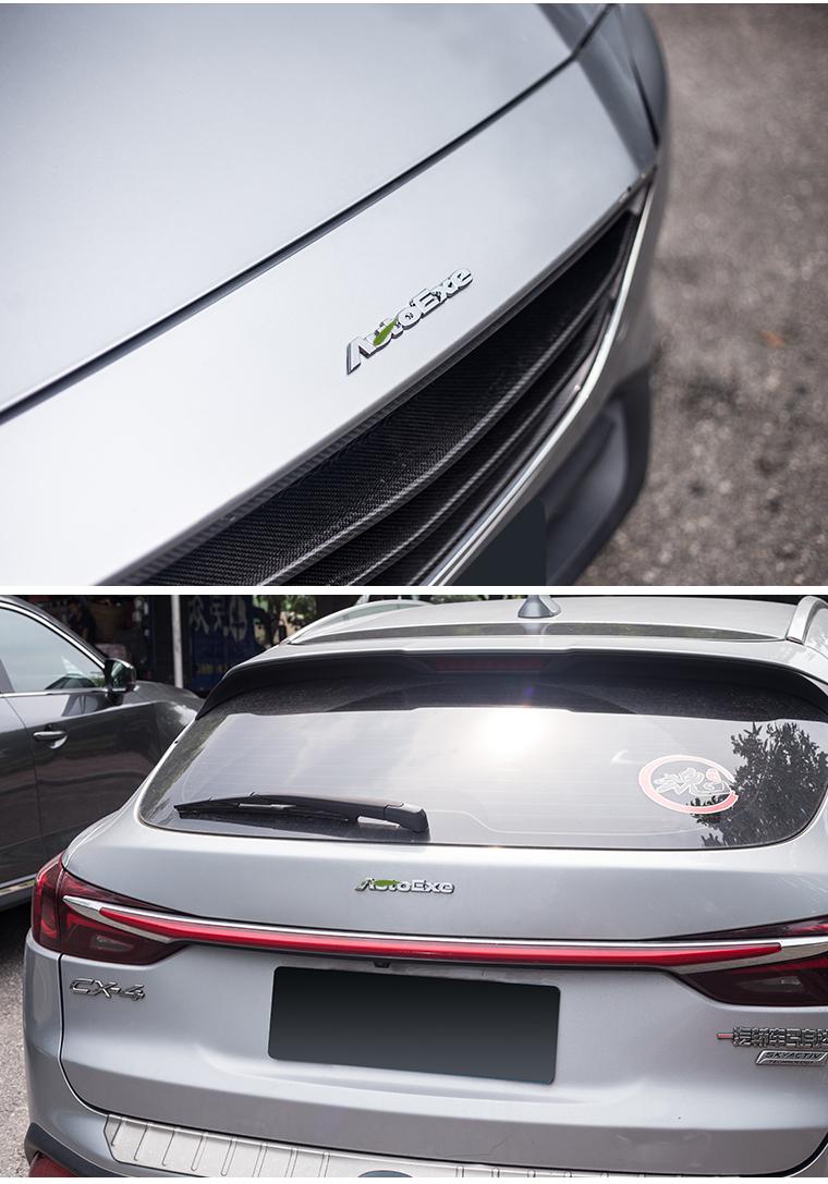 Logo trang trí trên xe Mazda - ảnh 27