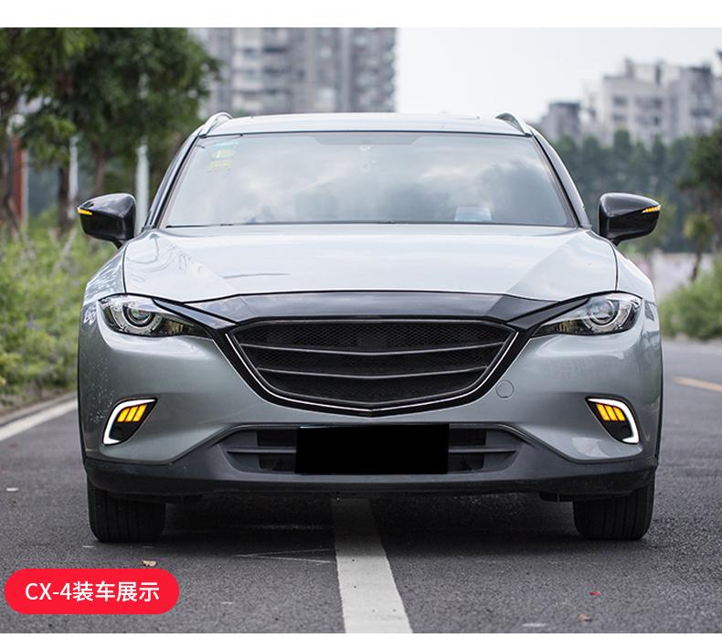 Ốp viền trang trí nắp Capo Mazda CX8 - ảnh 20