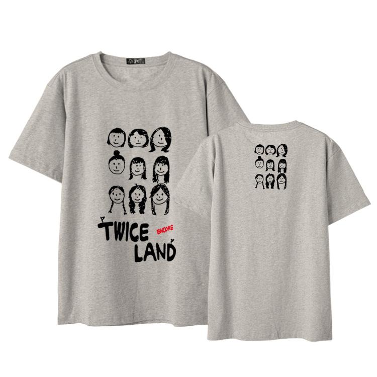 Twice Concert Same printed T-shirt