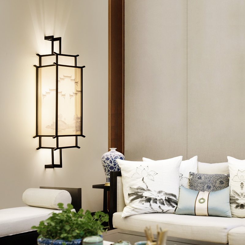 Usd 8109 New Chinese Wall Lamp Bedroom Bedside Lamp Living Room
