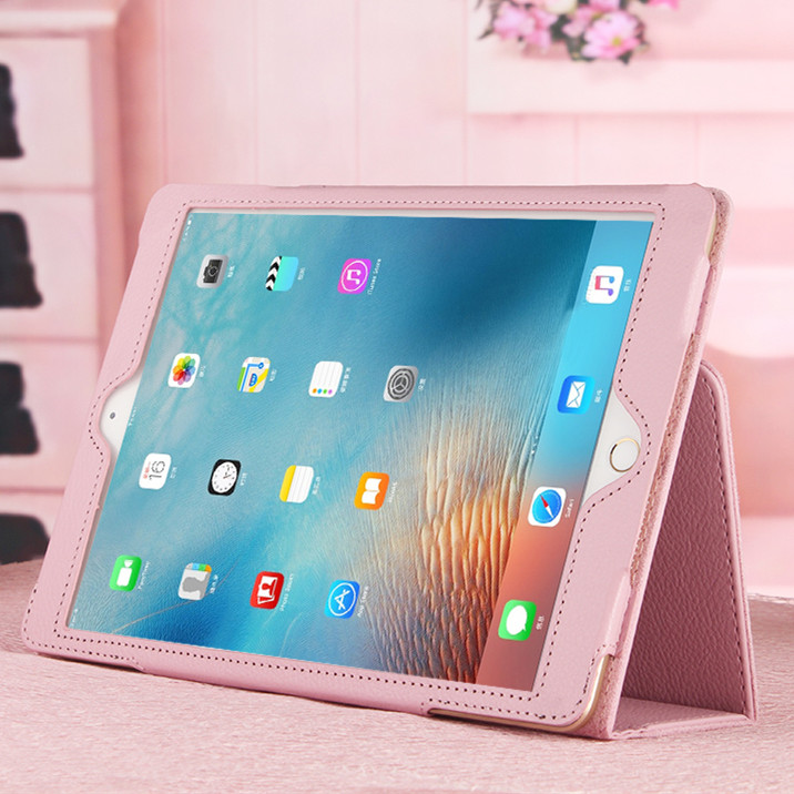 适用于iPad保护套a1474真皮a1566平板电脑第五代5六6苹果套9.7寸