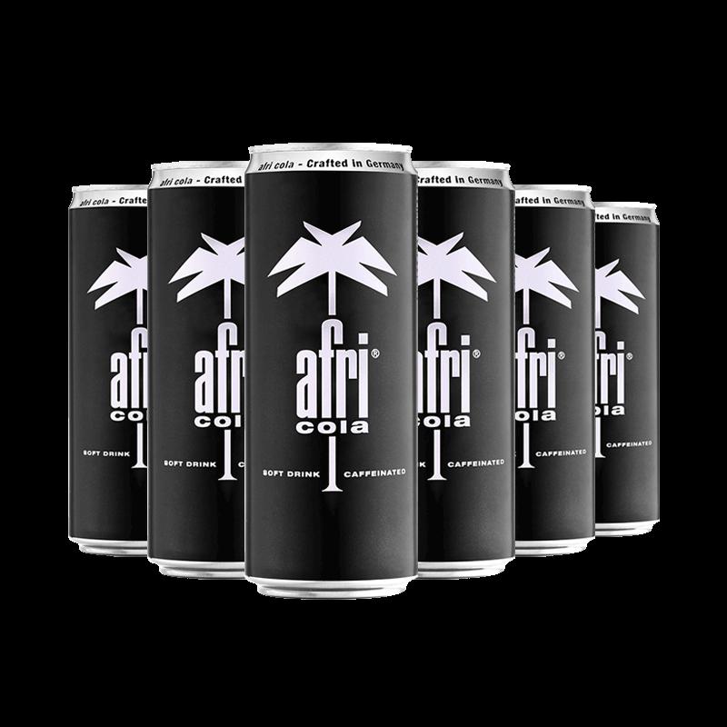 afri-cola德国进口可乐330ML*6罐装 碳酸型饮料汽水快乐水