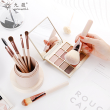 Yun Wei 7 makeup brush set of animal hair full set of brush cosmetic tools