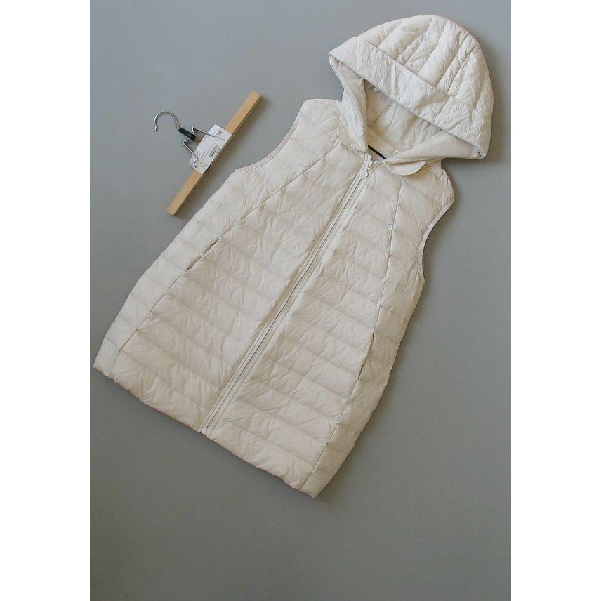 哥[C99-607]专柜品牌正品白鸭绒新款女装马夹羽绒马甲0.43KG