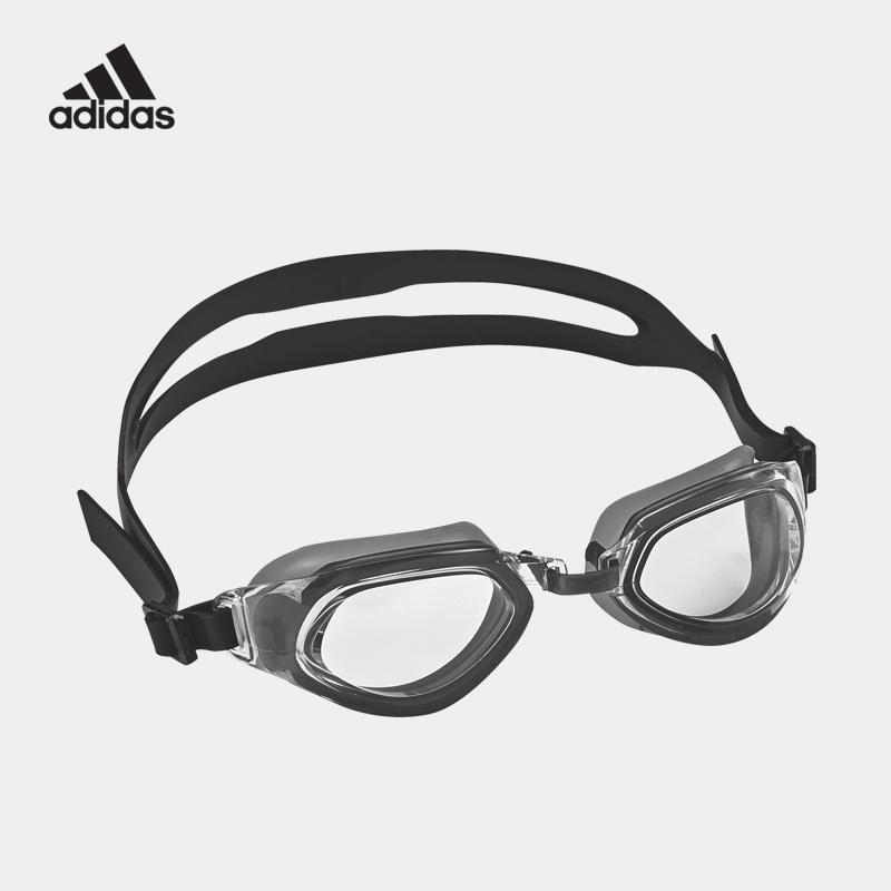 adidas 阿迪达斯男女式游泳眼镜高清防水防雾平光大框专业泳镜_天猫超市优惠券
