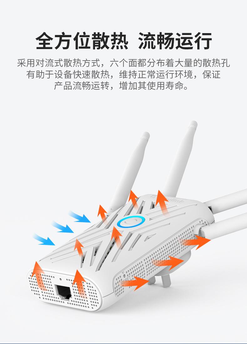 【大户别墅专用】睿因wifi增强器5g