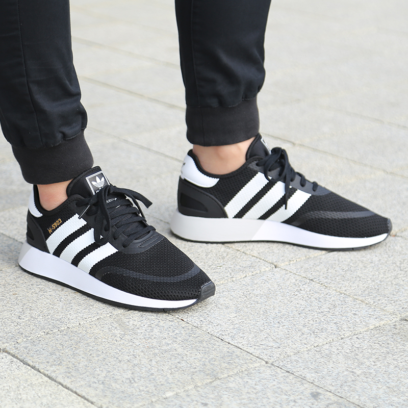 sneakers for cheap 6fd14 b19d3 Adidas clover mens shoes spring N-5923 small iniki board shoes sports  running casual shoes